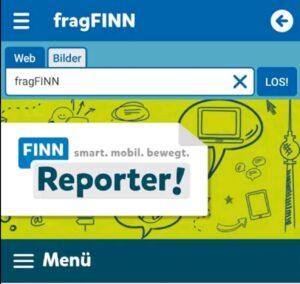 Screenshot FragFinn APP