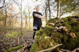 Mike im Wald