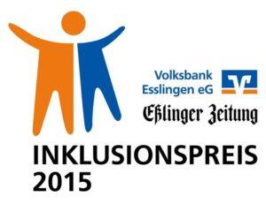 Inklusionspreis 2015 VB Esslingen und Esslinger Zeitung